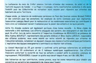 La Nouvelle Lachenoise Juillet 2015 – N°32