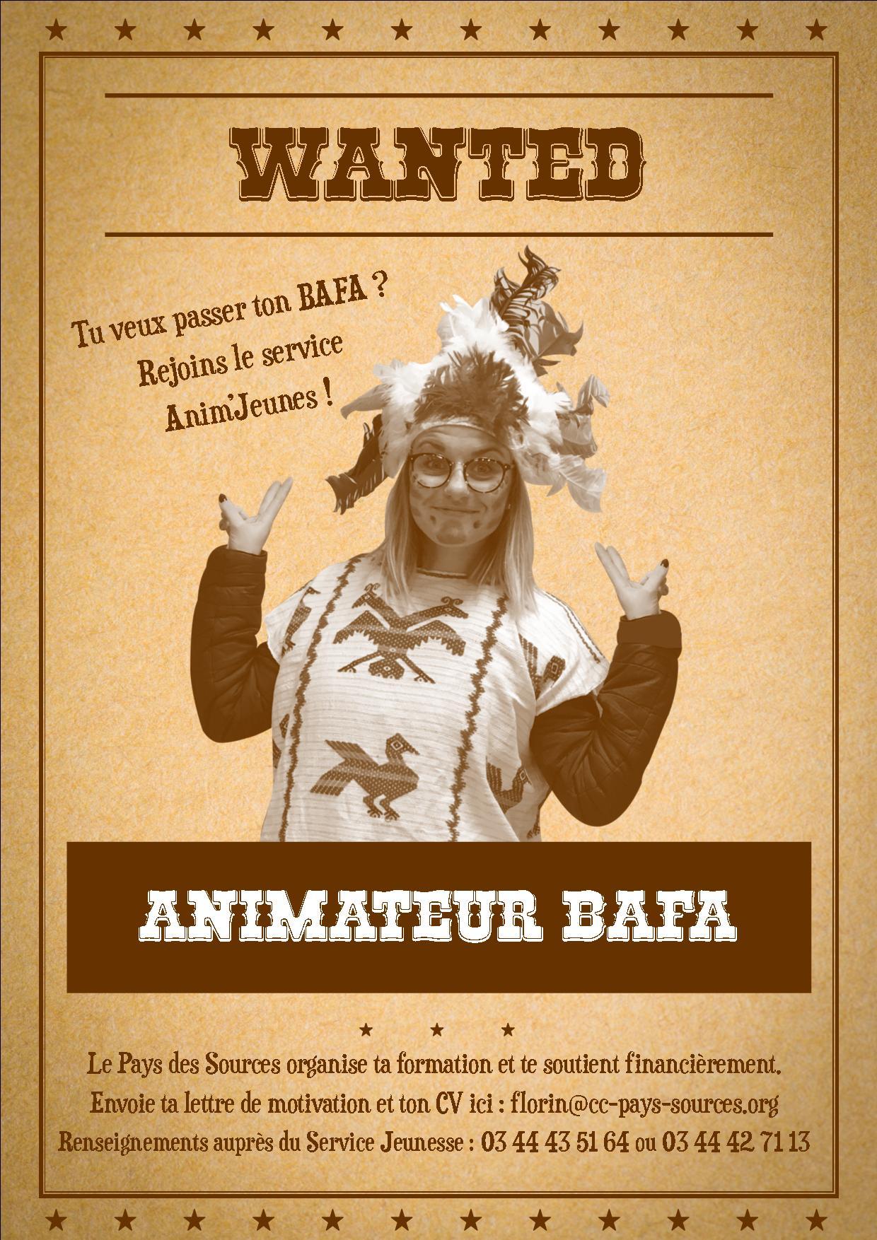 Affiche-wanted bafa
