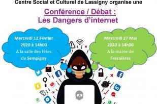 Conférence débat : les dangers d'internet