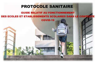 Protocole sanitaire établissements scolaires
