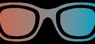 Paire de lunettes trouvée