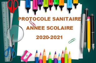 Protocole sanitaire écoles