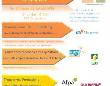 FORUM DE L'EMPLOI – Mercredi 20 Octobre 2021